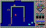 Still Sword for Adult PC-88 Gameplay might remind you of Gauntlet by without the firepower.