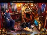 Mystery Trackers: Silent Hollow (Collector's Edition) iPad In the cabin of the engine of the train
