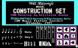 Will Harvey's Music Construction Set PC Booter Title screen (special version for IBM Music Feature card)