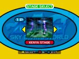 Skydiving Extreme PlayStation Stage select. Japan, China, Kenya, Germany, England, and America.