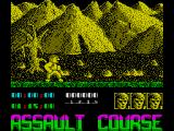 Assault Course: Combat Academy ZX Spectrum Game start up