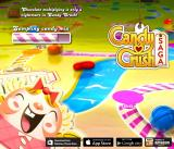 Candy Crush Saga Browser Title and loading screen. It also advertised the various devices you can get the game on.