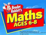 Reader Rabbit Maths Ages 6-8 Windows The games main title screen is only seen after the player has clicked on PLAY in the first option screen.