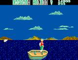Captain Silver SEGA Master System Night Time...