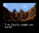 Brandish SNES A scene between Varik and the girl