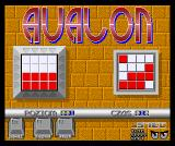 Avalon Amiga Start up position