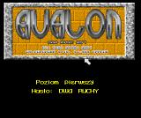 Avalon Amiga Title screen