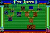 First Queen II: Sabaku no Joō Sharp X68000 World map