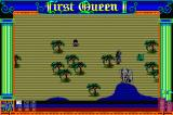 First Queen II: Sabaku no Joō Sharp X68000 Fighting green hippopotamus? Why, I'd thrash him from top to bottomus! Oh and there's a... white elephant