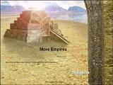 More Empires Windows Once installed More Empires opens with this title screen