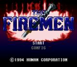 The Firemen SNES Title Screen