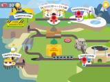 Dumb Ways to Die 2: The Games iPad The map