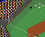 The Pro Yakyū Gekitotsu: Pennant Race MSX Different camera