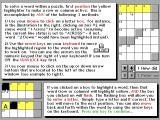 Bible Crossword Puzzles DOS There is excellent in-game help available via the side menu bar