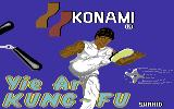 Yie Ar Kung-Fu Commodore 64 Title screen (U.S. version)