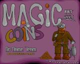Magic Coins Amiga Title screen