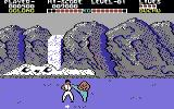 Yie Ar Kung-Fu Commodore 64 A fight in progress
