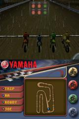 Yamaha Supercross Nintendo DS On the starting line