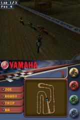 Yamaha Supercross Nintendo DS And they're off
