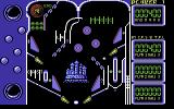 Advanced Pinball Simulator Commodore 64 The pinball table