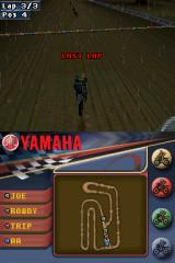 Yamaha Supercross Nintendo DS Final lap