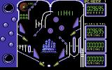 Advanced Pinball Simulator Commodore 64 Don't let the pinball get past you...