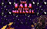 X-Men II: The Fall of the Mutants DOS The Fall of the Mutants