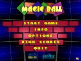 Magic Ball Windows Main menu