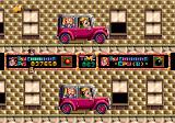 Dashin' Desperadoes Genesis Boss of the first world: chase the jeep before time runs out.