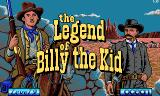 Billy the Kid DOS Title screen