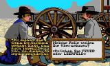 Billy the Kid DOS The player has to choose between two characters