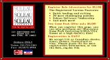 Bolo Adventures I DOS The game was released as shareware. On exit the player is reminded to do the right thing and pay up Shareware v3.0
