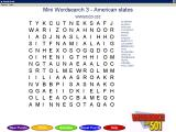 Wordsearch Buff 501 Windows An example of a Mini Wordsearch