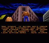 Last Action Hero Genesis Introduction. The Ripper is inside the school.