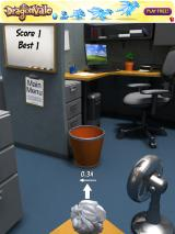 Paper Toss iPad Easy level in the office
