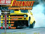 Burnout: Championship Drag Racing DOS Main menu