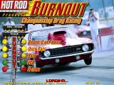 Burnout: Championship Drag Racing DOS Main menu (alternate)