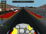 Burnout: Championship Drag Racing DOS About to race (default view)