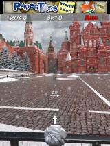 Paper Toss: World Tour iPad Moscow's Red Square