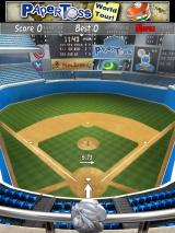 Paper Toss: World Tour iPad A baseball stadium. This one is hard as you are in the upper stands tossing to a wastebasket on the pitcher's mound down below.