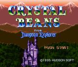 Crystal Beans From Dungeon Explorer SNES Title screen