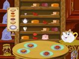 Disney's Beauty and the Beast: Magical Ballroom Windows Mrs Potts' Teatime Table, level two.