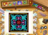 Disney's Beauty and the Beast: Magical Ballroom Windows Belles Writing Desk