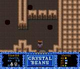 Crystal Beans From Dungeon Explorer SNES Dungeon with some brownish moster-creating things