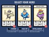 Middle Manager of Justice iPad Hire your first hero.