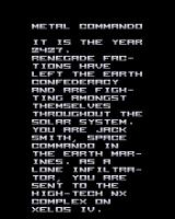 Metal Commando J2ME Mission log