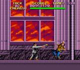 Last Action Hero SNES Kill the gunmen first or you'll be dead in no time.