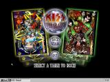 Kiss Pinball Windows Main menu