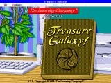 Treasure Galaxy! DOS Title screen and main menu