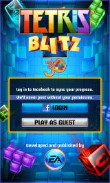 Tetris Blitz Android The game features Facebook connect but can be played without